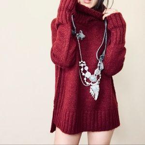 Brand new burgundy warm sweater